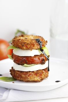 Fried Caprese Salad