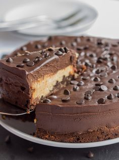 You can still enjoy the occasional treat if you are looking after yourself with sensible food choices and an exercise routine. Here's my reduced fat, lighter version peanut butter chocolate chip cheesecake dessert which is still indulgent and wickedly creamy. Check this and many other similar recipes like this out on my blog!