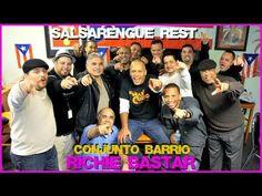 Salsarengue presenta Conjunto Barrio canta Jesus Pagan, Invitado Richie Bastar,SALSA PA EL BAILADOR