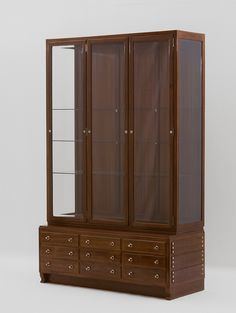 Otto Wagner, Cabinet for Otto Wagner's dining room in Vienna, 6th district, Köstlergasse 3, 1899 © MAK/Georg Mayer Otto Wagner, Contemporary, Modern, Nova, Cabinet, School, Furniture, Design, Home Decor