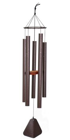 "This 42"" Majestic Spirits chime is ideally sized for various settings.  While it is small enough to be a contributor to an established theme, it is also large enough to make a statement all alone.  Hand-tuned in the USA, this chime will look great year-round!"