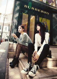 Korean style ulzzang friends