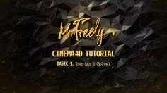 Cinema 4D tutorial_Basic3_Interface3 (Spline) (시네마4D 기초강좌_3강_인터페이스 3(스플라인) ) - YouTube