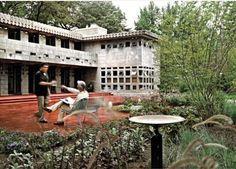 Usonian - Turkel House - Frank Lloyd Wright, Detroit