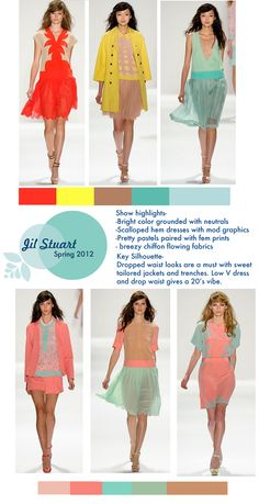 How to wear pink, mint green, red, tan, and yellow