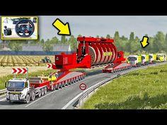Keren!! Truck Volvo Fmx Muat Trafo Overload - ETS2 - YouTube Origami Koi Fish, Truck Simulator, Volvo, Trucks, Youtube, Truck, Youtubers, Youtube Movies