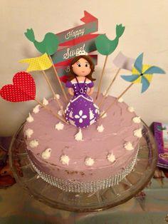 Princesa Sofia em plasticina