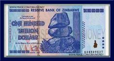 100000000000000 Dollar #Zimbabwe #World