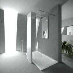 Breite Begehbare Dusche Mit Glas | Haus | Pinterest Badezimmer Dusche Modern