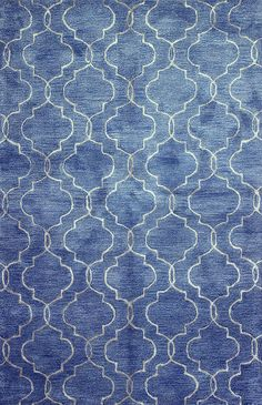 Chic hand tufted rugs for sale, at Hadinger Area Rug Gallery! (Nationwide shipping available.) A18Z R129-HG266 Denim