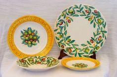 Set piatti da tavola, decoro Olive