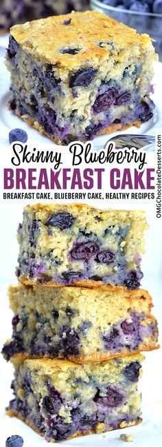 Homemade Breakfast, Healthy Breakfast Recipes, Snack Recipes, Dessert Recipes, Dinner Recipes, Healthy Recipes, Blueberry Breakfast Recipes, Snacks Ideas, Healthy Blueberry Desserts