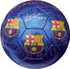 FC BARCELONA BLUE SOCCER BALL (SIZE 5) by F.C. Barcelona. $19.90. Makes a great gift idea for all F.C. Barcelona fans. The soccer-ball ships deflated, and needs inflation upon arrival.