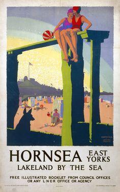 'Hornsea', LNER poster, c 1930.