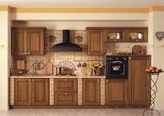 Risultati immagini per épített rusztikus konyha