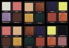 ANASTASIA BEVERLY HILLS PRISM PALETTE COLOR COMBINATIONS