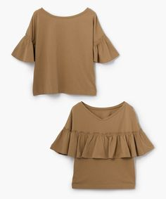 【ZOZOTOWN】MACPHEE(マカフィー)のTシャツ/カットソー「コットンジャージー フレアスリーブプルオーバー」(12037403005)をセール価格で購入できます。