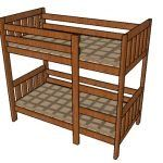 This step by step diy article is about loft bed plans. This is a very simple modification of my bunk bed plans. So, if you have a small roof and you want to fit both a bed and a study desk, these plans will come handy to you. Platform Bed Plans, Queen Size Platform Bed, Platform Bed Frame, Build A Loft Bed, Loft Bed Plans, Bed Frame Plans, Loft Bed Frame, Triple Bunk Beds Plans, Twin Size Loft Bed