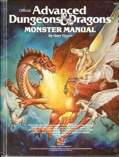 D&D cover art for rulebooks of various editions of the Dungeons & Dragons tabletop RPG game. Dungeons And Dragons Books, Advanced Dungeons And Dragons, Gary Gygax, Classic Rpg, Player's Handbook, Cover Art, Fantasy Art, Fantasy Books, Playing Games