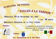 Continúan en la Vall d'Uixó realizando actividades para ayudar a Juchitán.