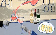 A Crash Course in Sherry By Way of San Sebastian | Illustration by Natalie K Nelson | Story by Zachary Sussman