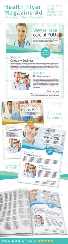 DOWNLOAD :: https://jquery-css.de/article-itmid-1004670360i.html ... Health Flyer/ Magazine Ad  ...  business, clean, client, corporate, dentist, dentistry, flyer, health, healthcare, hospital, medical, nurse, pacient, promotion, wellfare  ... Templates, Textures, Stock Photography, Creative Design, Infographics, Vectors, Print, Webdesign, Web Elements, Graphics, Wordpress Themes, eCommerce ... DOWNLOAD :: https://jquery-css.de/article-itmid-1004670360i.html