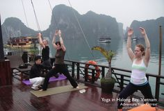 Halong Bay - Adventure Yoga Retreat42 Ha Long Bay, Seven Wonders, Natural Wonders, Vietnam, Exotic, Yoga, Adventure, Nature, Pictures