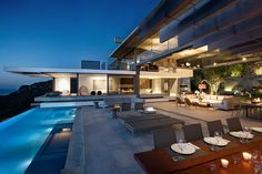 High-end Stunning Luxury Villa Near Cape Town Pool Lounge, Luxury Accommodation, Luxury Holidays, Indoor Outdoor Living, Luxury Apartments, Model Homes, Luxury Villa, Cape Town, Decoration
