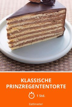 Klassische Prinzregententorte The Effective Pictures We Offer You About Vegan Recipes dessert A quality picture can tell you many things. Pie Recipes, Low Carb Recipes, Baking Recipes, Cookie Recipes, Vegan Recipes, Dessert Simple, Desserts Végétaliens, Dessert Recipes, Cake Mix Cookies
