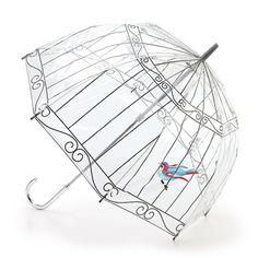 birdcage umbrella- Lulu Guinness for Fulton