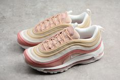 quality design a3293 e023c canada where to buy 2018 nike air max 97 prm particle beige summit white  rush pink