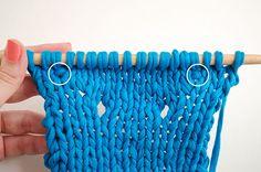Tricoter deux fois la même maille