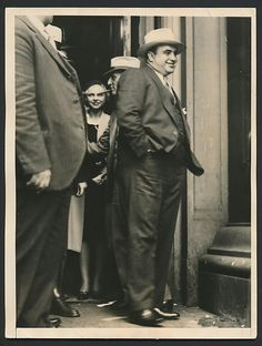 Al Capone, convicted. Real Gangster, Mafia Gangster, Roaring Twenties, The Twenties, Chicago Outfit, Al Capone, Thug Life, The Godfather, Vintage Photography