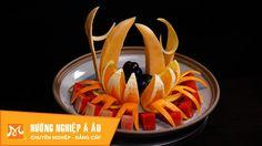 7 cách cắt tỉa trang trí dĩa trái cây cực đẹp | Học cắt tỉa hoa quả