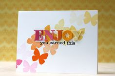 You Earned This Card by Laura Bassen for Papertrey Ink (May 2014)