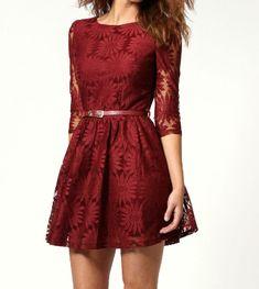 Slim dress lace embroidery three-dimensional AX081504ax