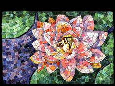 Jacki Gran mosaics  MEXICAN LILY, 18 x13 inches