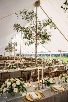 After obsessing over every single photo from this Montana wedding, I'm adding The Ranch at Rock Creek to the top of my wanderlust list right away.From the tent poles covered with birch tree barkto stunning florals by Habitat Floral Studio,