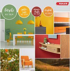 Bunte, natürliche Farbkombinationen für das Zuhause Shops, Selection, Bunt, Inspiration, Elegant, Home Decor, Color Combinations, Home, Nature