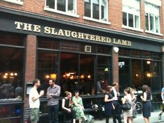 Music venue in the heart of Clerkenwell - The Slaughtered Lamb in Clerkenwell, Greater London