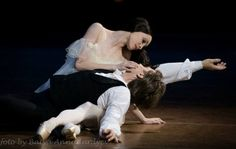 """Star Wars, the Ballet! Leia holds Han as he lay dying.  Okay, Not really... Olga Smirnova and Artem Ovcharenko, """"The Lady of the Camellias"""""""