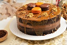 Cooking Tips, Cooking Recipes, Romanian Desserts, Something Sweet, I Party, Winter Food, Cheesecakes, Cake Cookies, Macarons