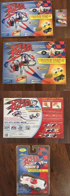 Speed Racer 19244: 2002 Darda Speed Racer Grand Prix Challenge Race Track Factory Sealed Rare Mint -> BUY IT NOW ONLY: $144.99 on eBay!