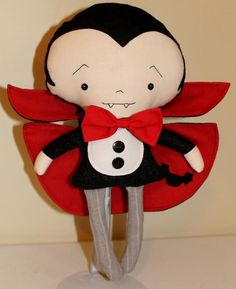 Trick or Treat - handmade Witch Dolls & Vampires Made by You!