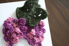 Happy Woman: Crochet grapes pattern