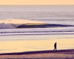Sunset Stroll - Surf Photography, Sunset Photo, California Art Print, Ocean and Wave Photography ($25.00) at westcoastprintworks.etsy.com