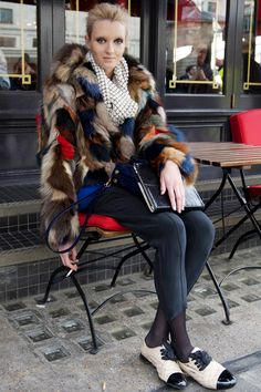 El street style de las modelos en las semanas de la moda F/W 2013-2014 París – Viste la Calle