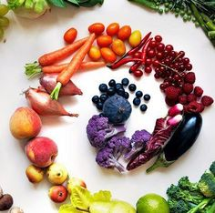 Eat up tp 7 Colorful Fruits and Vegetables a Day