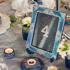 We've long had in mind to use our Winter Fairytale collection in a styled shoot… Event Design, Wedding Designs, Fairytale, Dream Wedding, Wedding Decorations, Pastel, Hand Painted, Candles, Weddings