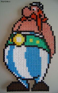 Bretagne - breizh - astérix - point de croix - cross stitch - Blog : http://broderiemimie44.canalblog.com/